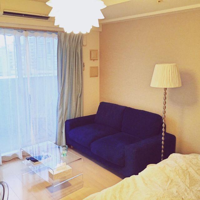 KNAPPA/IKEA照明/IKEA/ローテーブル/1K/一人暮らし…などのインテリア実例 - 2015-08-19 18:50:28 | RoomClip(ルームクリップ)