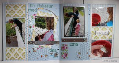 Lenas kort: På fisketur med Tina