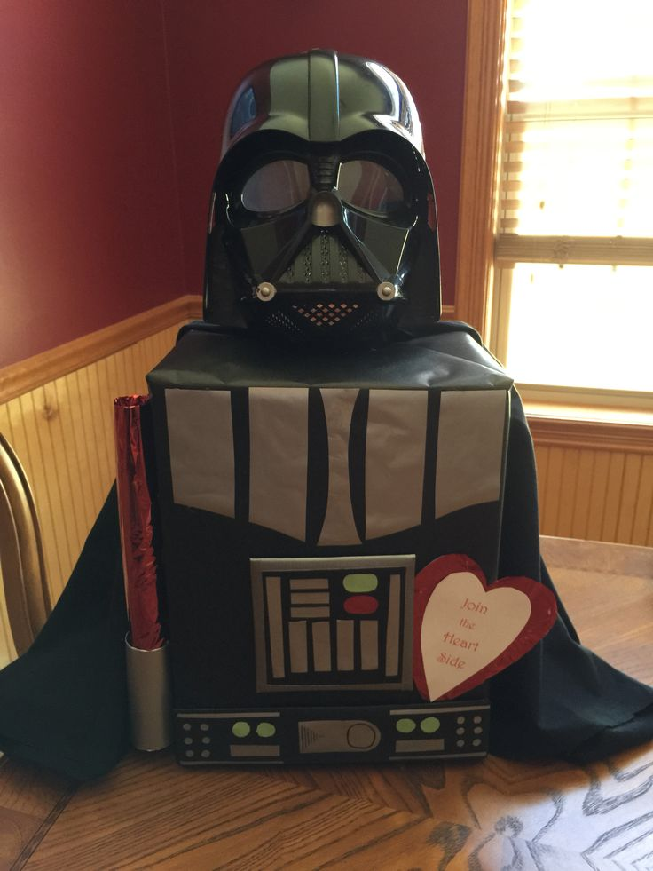 Diy Star Wars Valentines Ideas Darth Box And