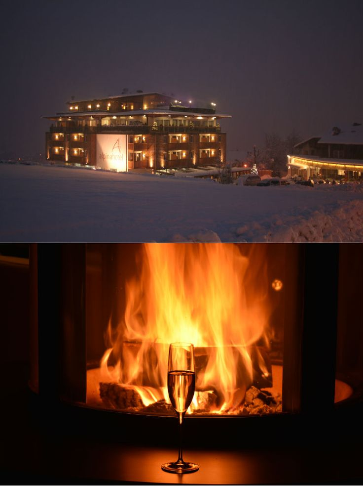 Alpinahotel - family lifestyle | Family Boutique Hotel | Zillertal | Austria | http://lifestylehotels.net/en/alpinahotel-family-lifestyle | chimney, chimney fire, warm, snow and ice outside