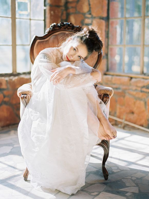 Wedding dress inspiration for a fine art bride | Wedding Sparrow