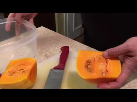 Preparing Butternut Squash  We are showing you an in depth way to prepare a Butternut Squash. If you need the help we are here to help.  http://LIFEWAYSVILLAGE.COM/cooking/preparing-butternut-squash-2/