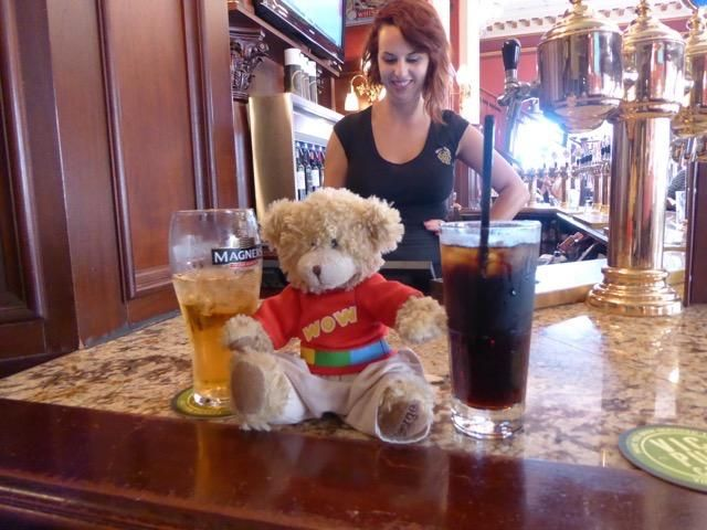 Lost on 11 Aug. 2014 @ Store St, Victoria, BC Canada. George either was bear napped or went walkabout when we were shopping, he was in my bag when we left the pub but by the time we got to the Empress hotel he was lost. We took the time to look for hi... Visit: https://whiteboomerang.com/lostteddy/msg/ewpdm5 (Posted by Shirley on 04 Jan. 2016)