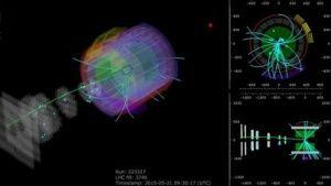 Large Hadron Collider: Sie kollidieren wieder - fast mit voller Wucht - Im LHC stoßen wieder Protonen zusammen: Die Cern-Forscher haben im Teilchenbeschleuniger erstmals Teilchenstrahlen mit einer Energie von 13 TeV kollidieren lassen. Das ist ein Rekord.