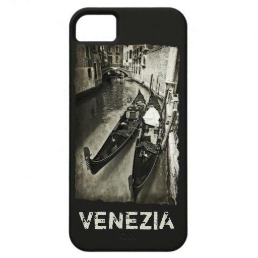 Venice, Italy. venetian gondolas case iPhone 5 cover