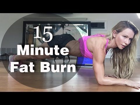 15 Minute Fat Burn #1 - great workout for weight loss in tight spaces! | Zuzka Light Online Workouts