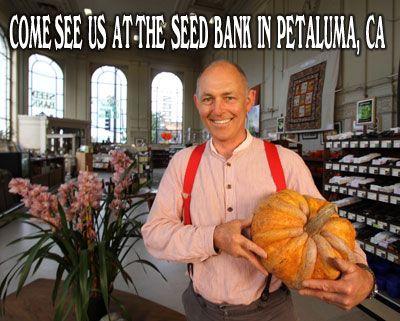 Paul at the Seed Bank/Baker Creek, Petaluma
