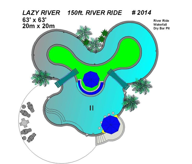 2014 Lazy River Pool
