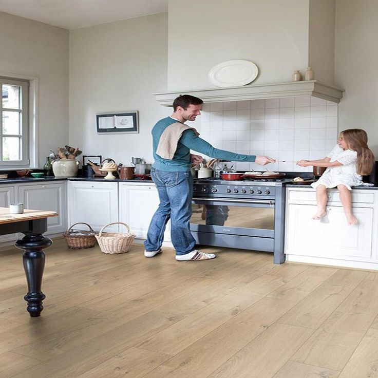 8 best kitchen floor images on pinterest flooring ideas for Quickstep kitchen flooring