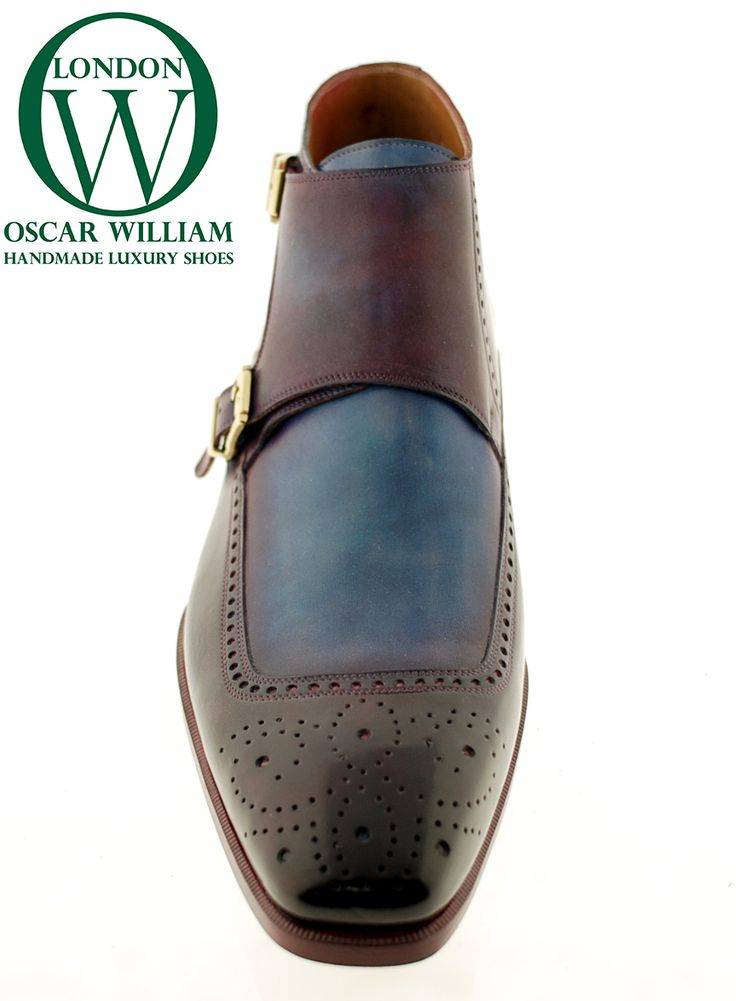 Oscar William Classic English Handcrafted Mens Boots Italian Calfskin Leather