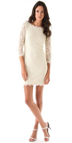 Perfect rehearsal dinner dress for a fall wedding