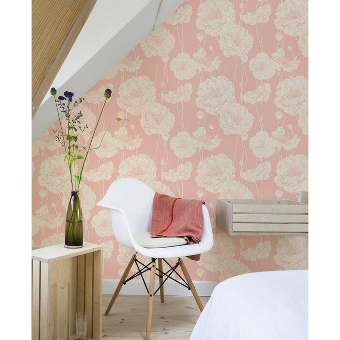 Scotty Peony Peel And Stick Wallpaper Panel In 2020 Peel And Stick Wallpaper Wallpaper Panels Peony Wallpaper