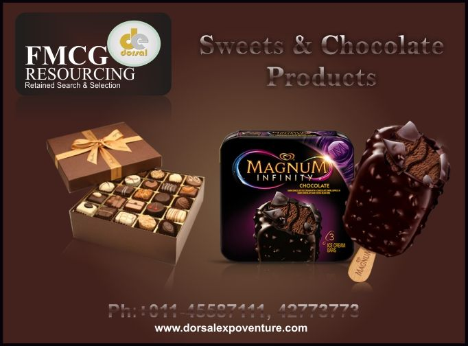 An irresistibly mouth-watering range of assorted sweets products and other FMCG products, like they were in your childhood: order your favorites online with Dorsal Expoventure - Fast Moving Consumer Goods Exporter Company in Delhi/NCR.