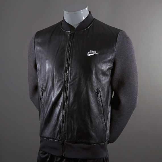 Nike leather jackets