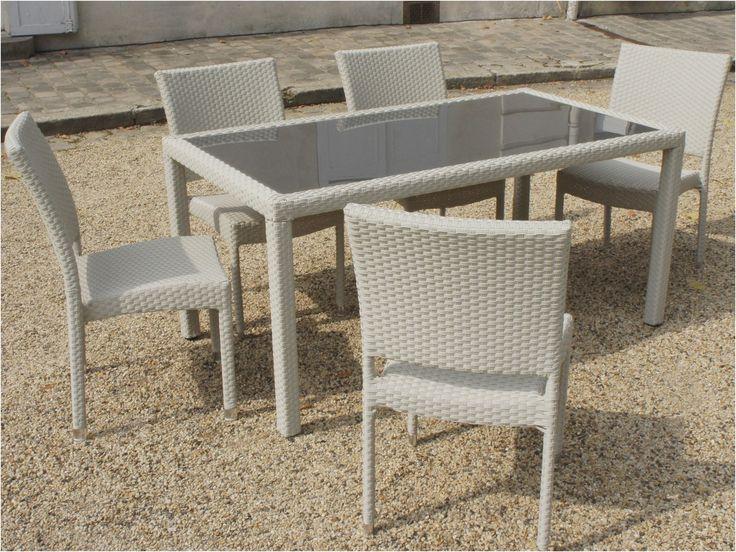 12 Ideal Table De Jardin En Resine Tressee Di 2020