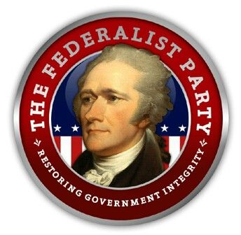 The  Federalist Party was the first American political party, from the early 1790s to 1816. They controlled the federal government until 1801. Formed by Alexander Hamilton. His supporters grew into the Federalist Party.
