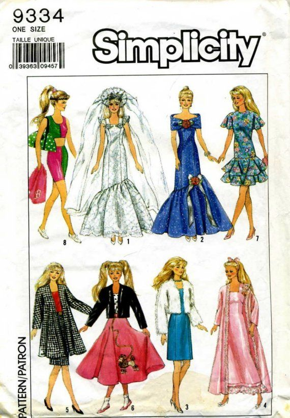 12 best Patterns Barbie\'s images on Pinterest | Barbie doll, Barbie ...