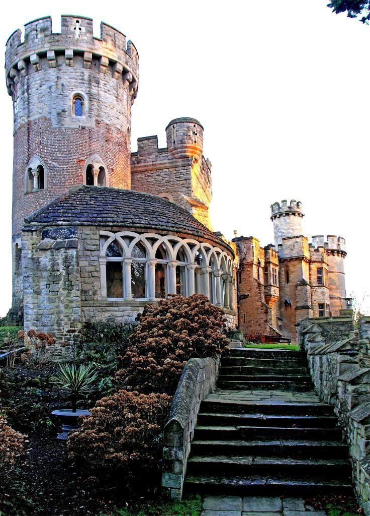 Castillo de Devizes, Wiltshire, Inglaterra construido en 1120