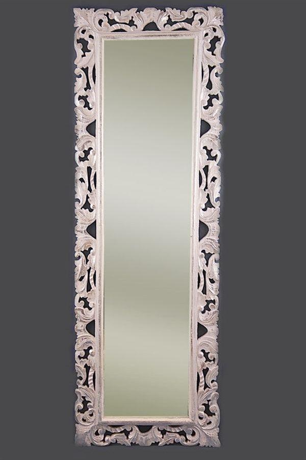 specchio stile barocco baroque mirror 150x50 cm baroque
