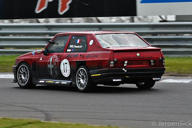 Alfa Romeo 75 IMSA by Jeroen Haafkens, via Flickr