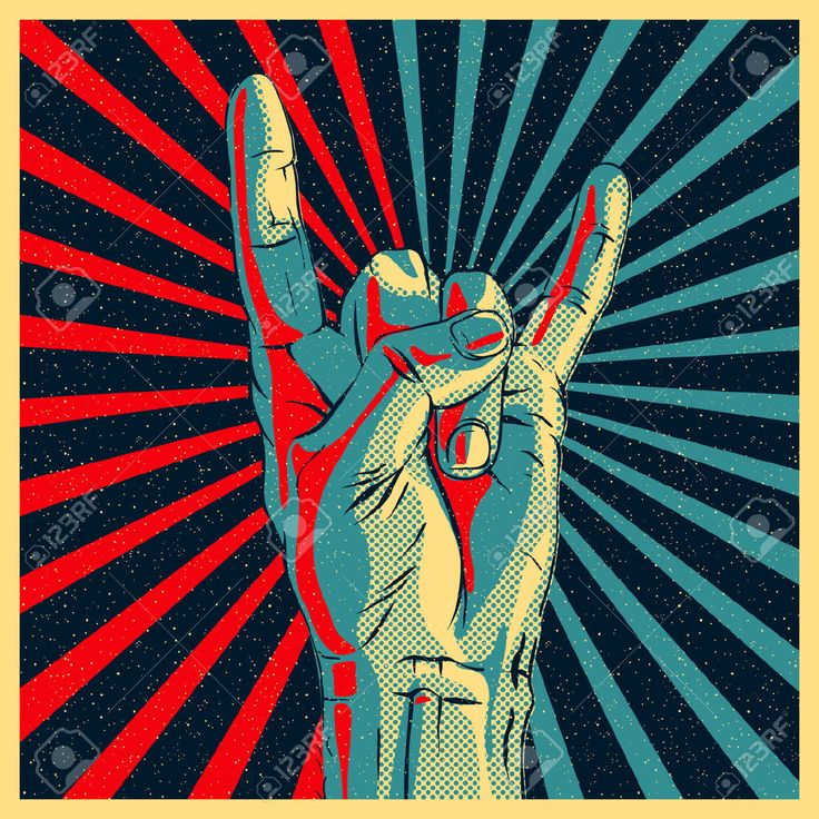 25357514-Hand-in-rock-n-roll-sign-illustration--Stock-Vector-rock-music-art.jpg (1300×1300)