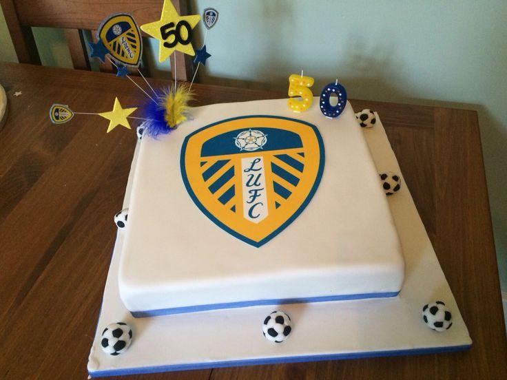 Leeds Utd cake