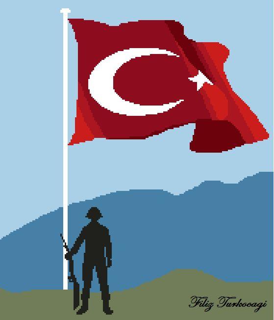 30 Ağustos Zafer Bayramı hepimize kutlu olsun ! Designed by Filiz Türkocağı