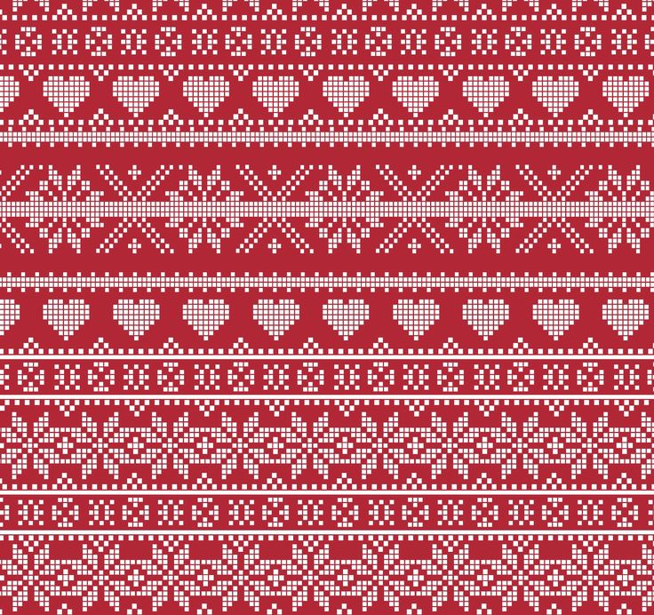 'Fairaisle' Christmas fabric www.fryetts.co.uk