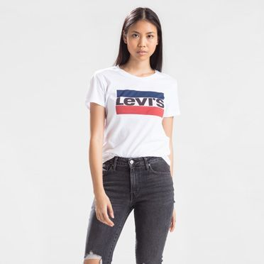 Levi's The Perfect Graphic Tee T-Shirt - Women's XS