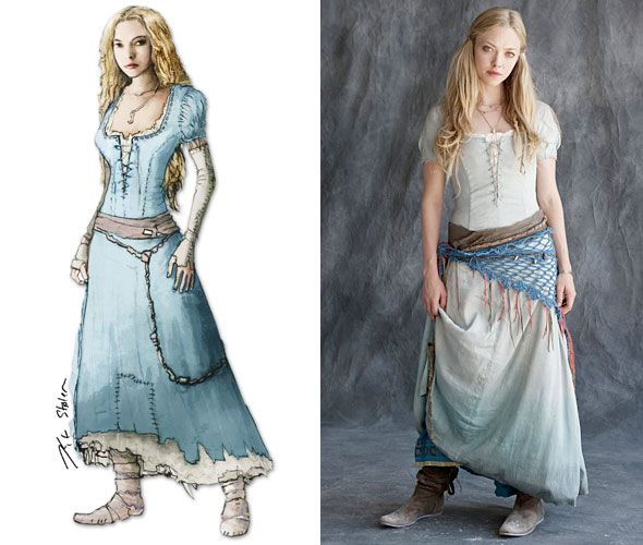 Medieval Dresses Red Hood | Amanda Seyfried Red Riding Hood Costume