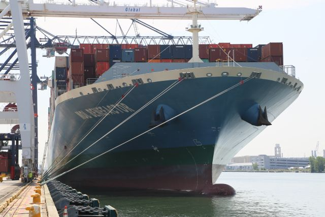 Port Authority Welcomes Largest Container Ship Ever to Bayonne Docks