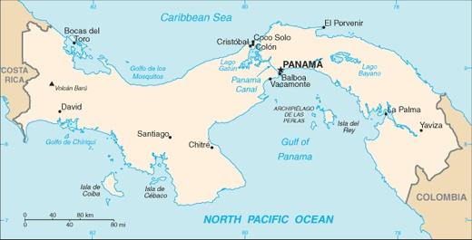 Panama está América Central. La capital es Panama. Yo quiero ir a Panama, porque Canal de Panamá.
