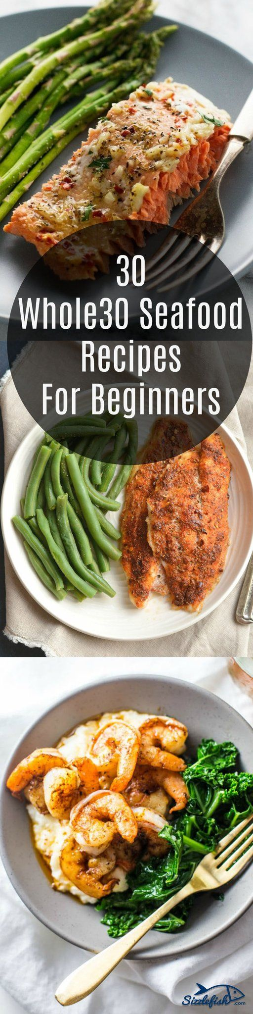 We have compiled a list of 30 Whole30 Seafood Recipes For Beginners (and non-beginners) to make your journey back to clean eating healthy, fresh and fast.