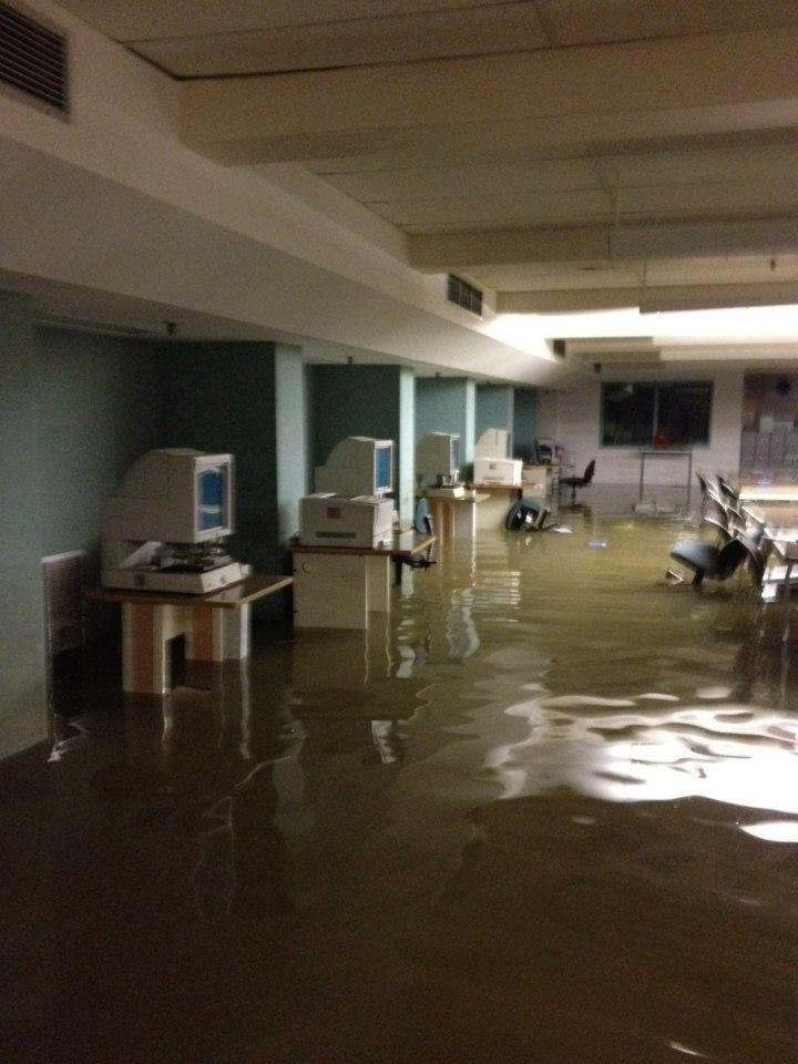 Calgary Flood: Central Library Impact