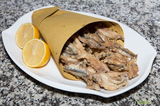 Rezept Frittierte Sardellen - http://www.toskanaitalien.de/rezept-frittierte-sardellen/