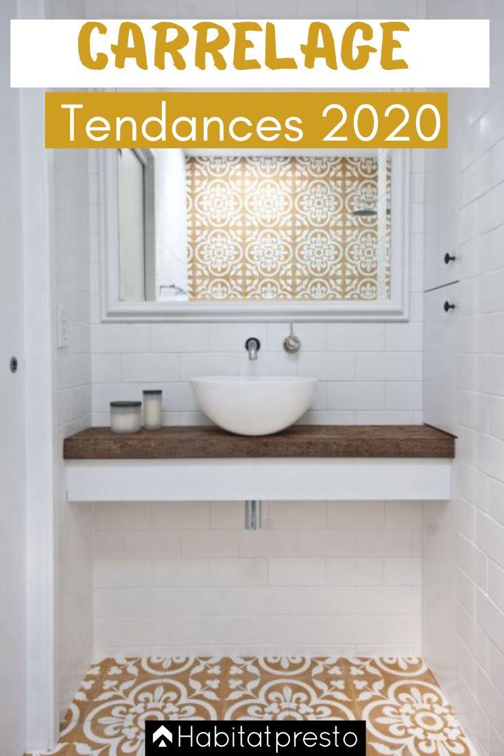 Tendances carrelage 2020 : 7 incontournables | Salle de bain minimaliste, Salle de bains moderne ...