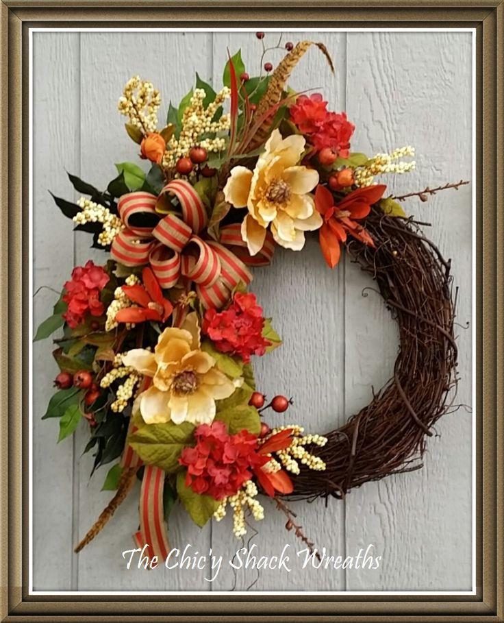 Custom Order for Karen Wreath FallGrapevine