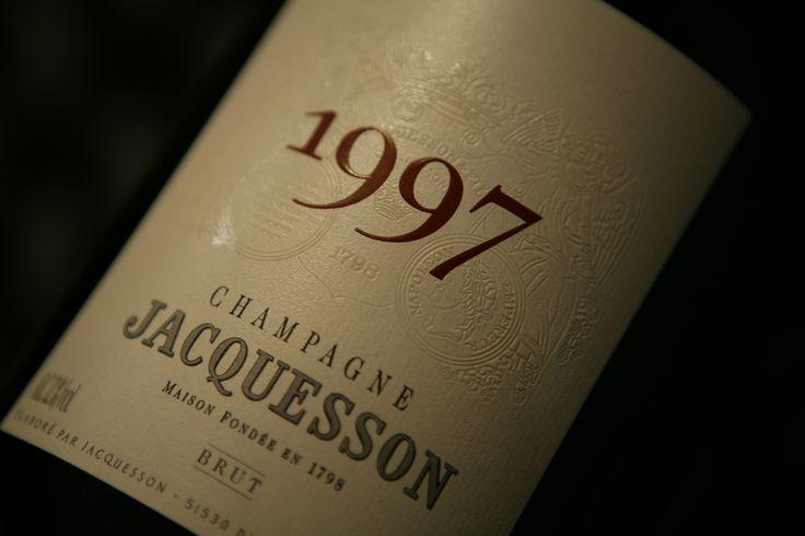 Champagne Jacquesson 1997 Brut. Domaine Jacquesson #champagne