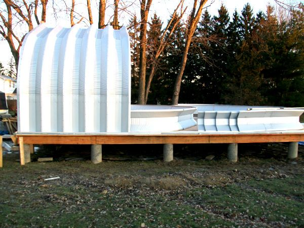 93 best images about quonset home on pinterest steel for Modern quonset homes