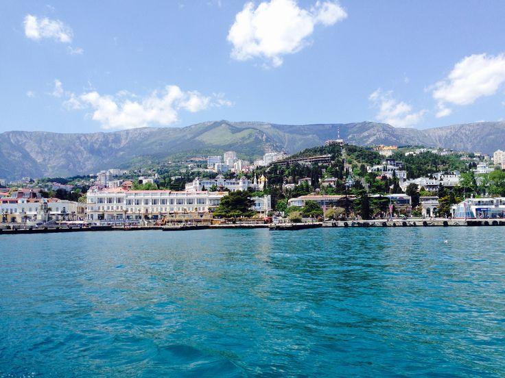 Traveling to Crimea Russia Crimea Yalta travel  black sea sea summer water mountains