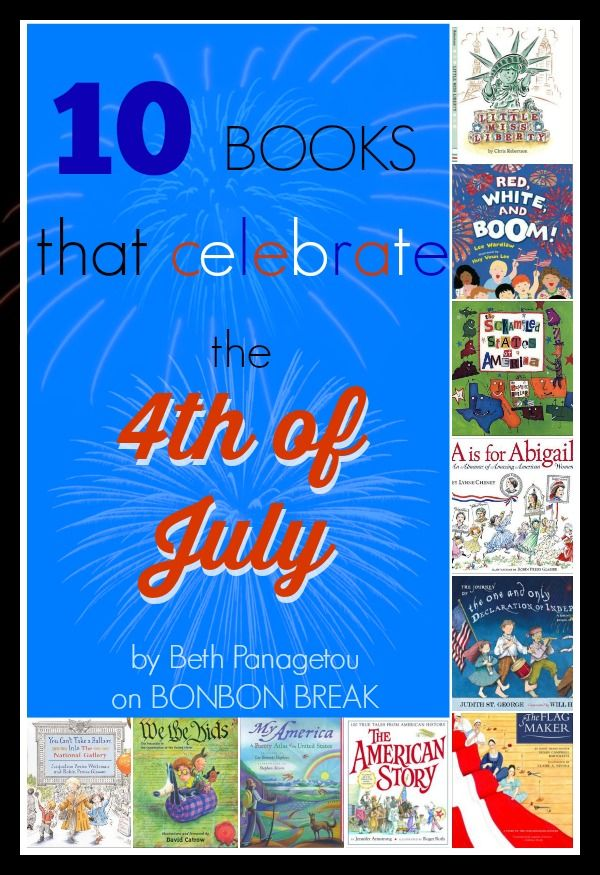 10 Books to Celebrate the 4th of July books 4th