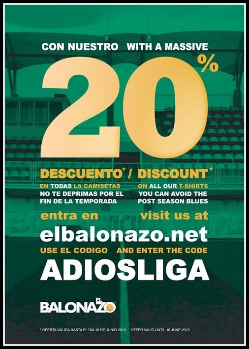 Best place for spanish football t.-shirts www.elbalonazo.net