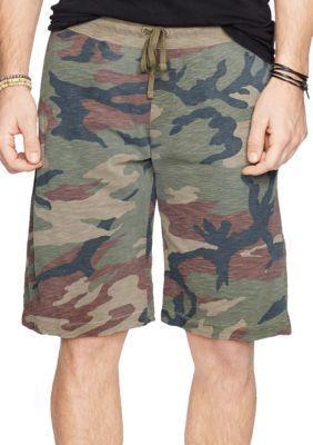 Denim  Supply Ralph Lauren  Slub Cotton Jersey Shorts