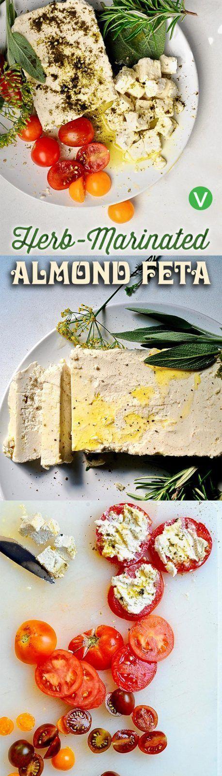 Almond Feta!!!! Vegan cheese. Easy, tangy, creamy delicious, vegan gluten free . #BeingVegan