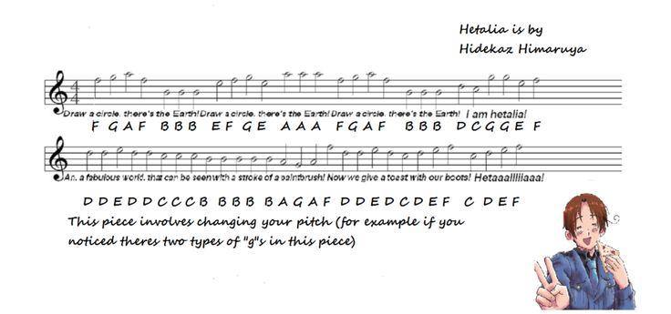 anime flute sheet music - Google Search