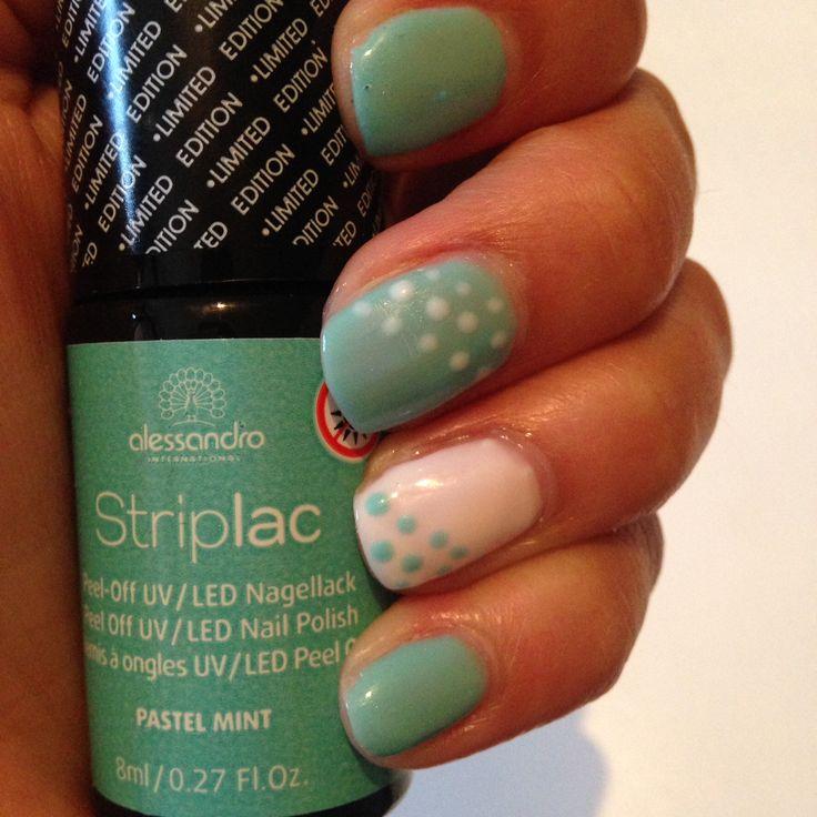 Striplac Pastel Mint