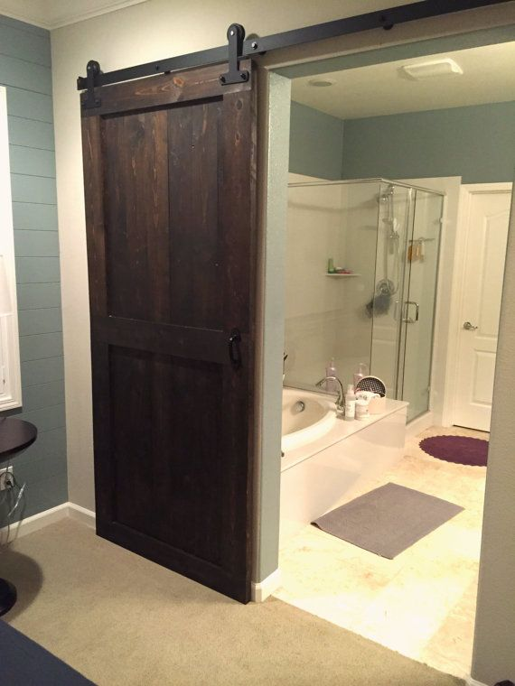 Sliding Barn Door Espresso Stain Sliding Barn Doors