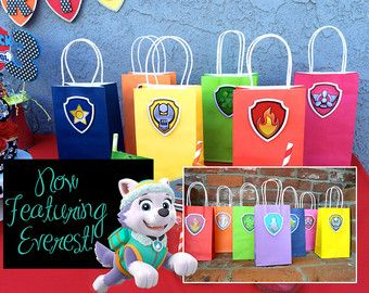 Paw Patrol Party Favor Bracelets Paw Patrol por YayaAccessories