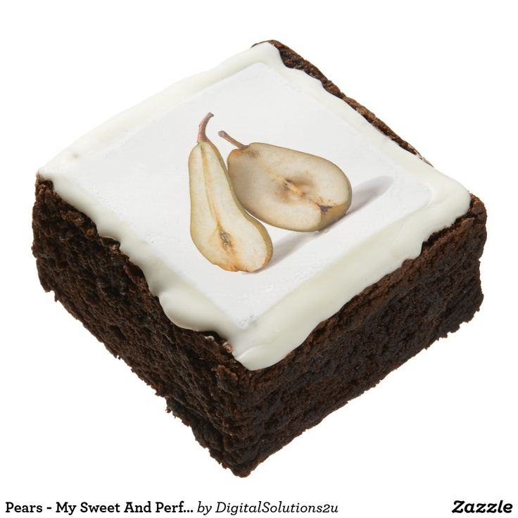Pears - My Sweet And Perfect Half Brownie