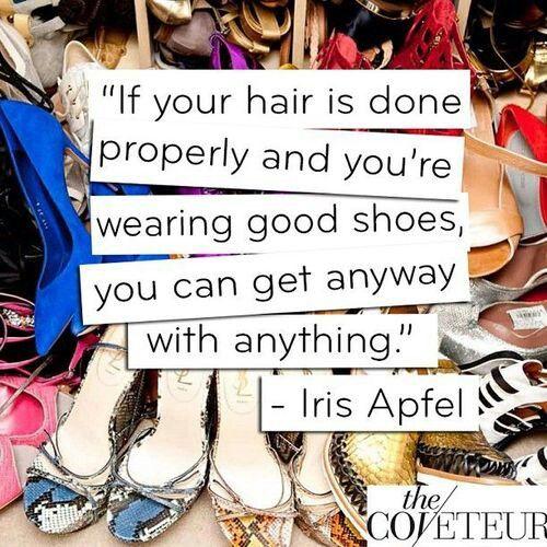 Style & Design Icon: Iris Apfel…  Iris Apfel #quote
